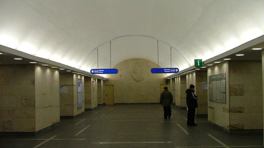 Жителям Петербурга поведали, когда ограничат вход настанцию метро «Горьковская»