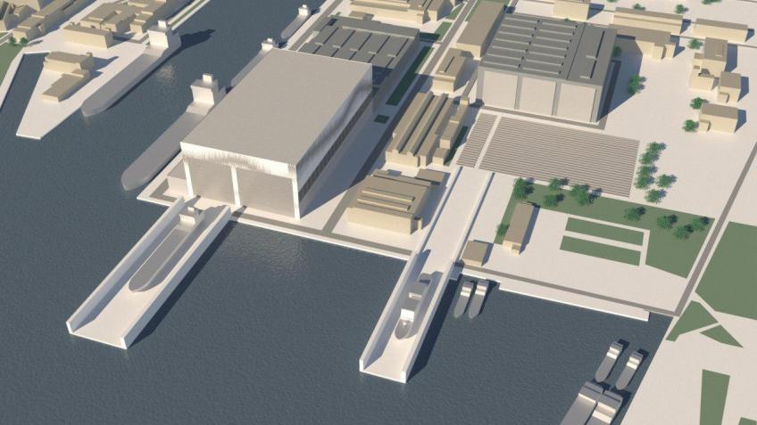 На «Северной верфи» появится новый судостроительный комплекс