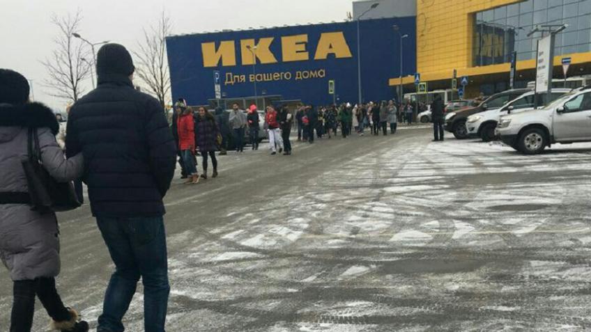 Магазин IKEA вТК «Мега Дыбенко» экстренно эвакуировали