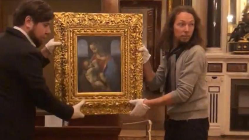 Эрмитаж перевесил картины Леонардо даВинчи «для удобства зрителей»