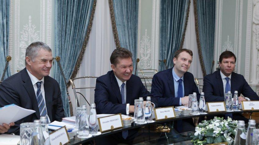 Экспорт Газпрома вЕвропу уменьшился на3% из-за теплой зимы
