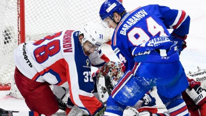 СКА сравнял счёт всерии сЦСКА вфинале Западной конференции КХЛ