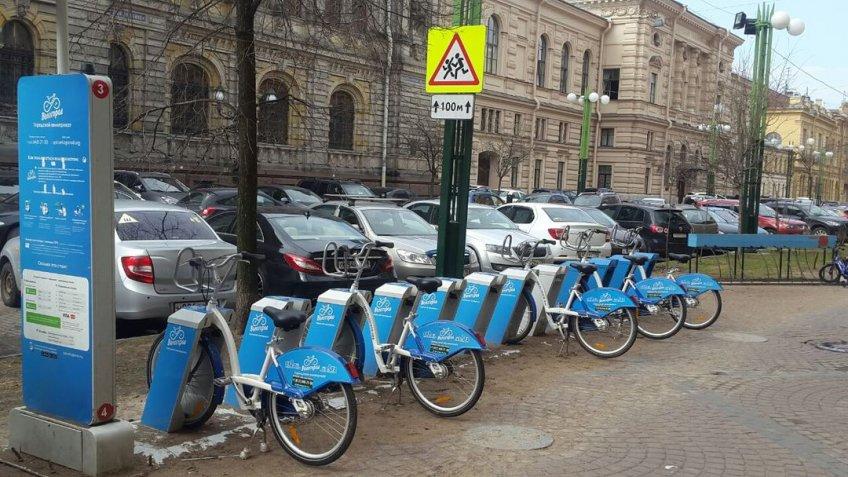 Петербургский велопрокат поведал осрыве исследования станций из-за блокировок Роскомнадзора