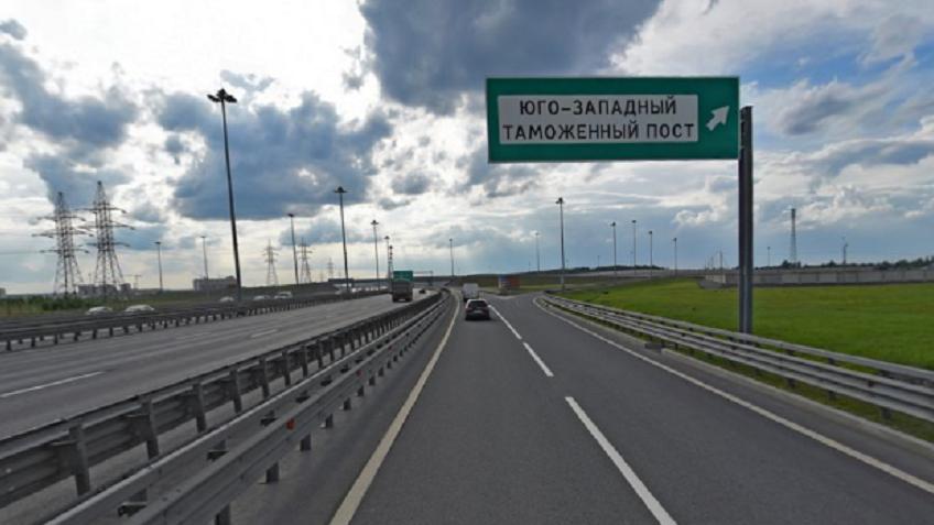 Наразвязке КАД сВолхонским шоссе перекроют съезд