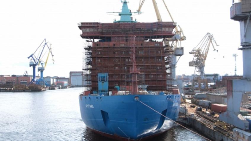 ВПетербурге начались заключительные тестирования нового русского ледокола— «Арктика» практически готова