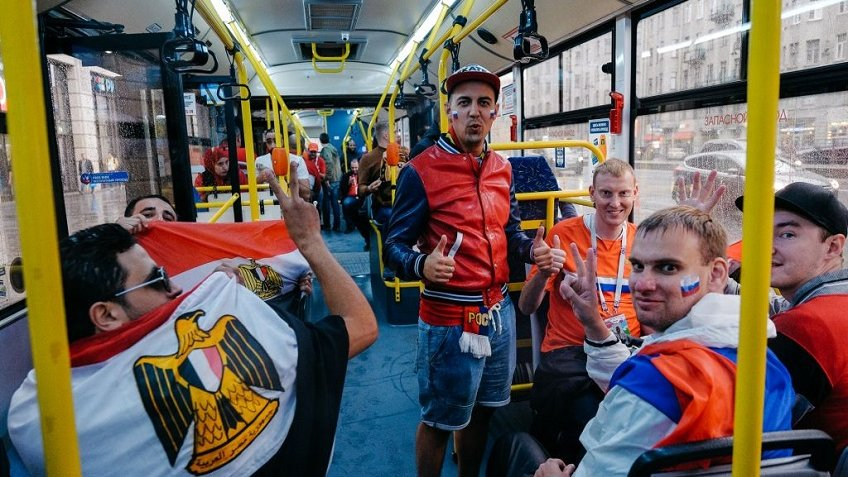 Петербург вовремя ЧМ-2018 посетили около 700 тыс. туристов