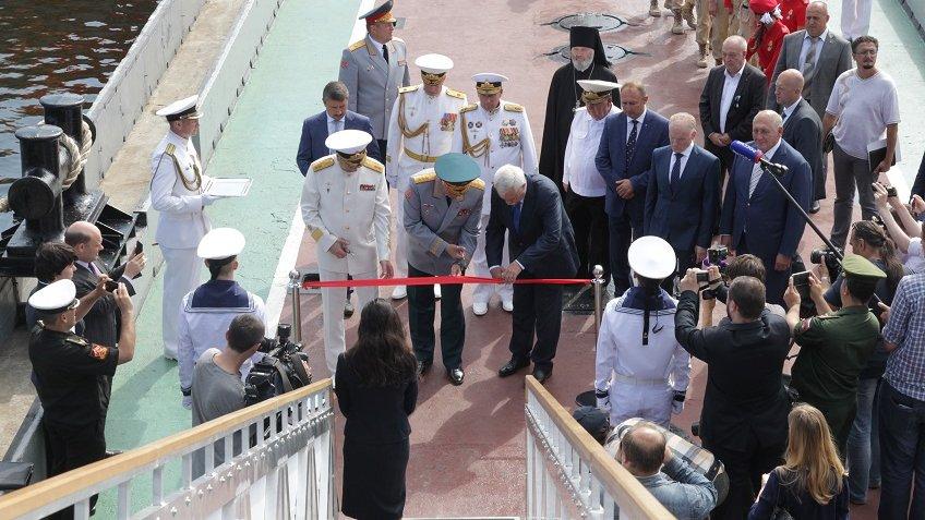ВКронштадте появился крупнейший в РФ корабль-музей