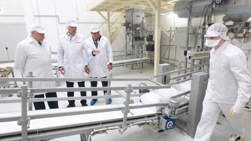ВПетербурге открылся завод попроизводству сухих хлебных смесей