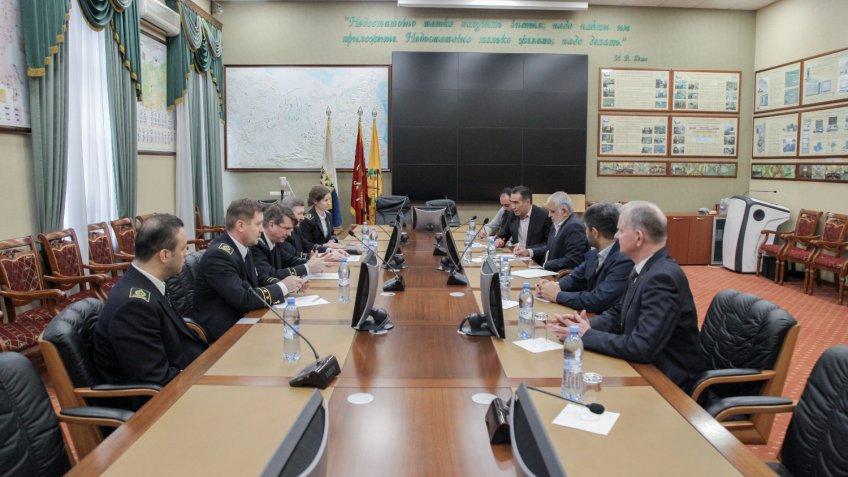 Иранская делегация