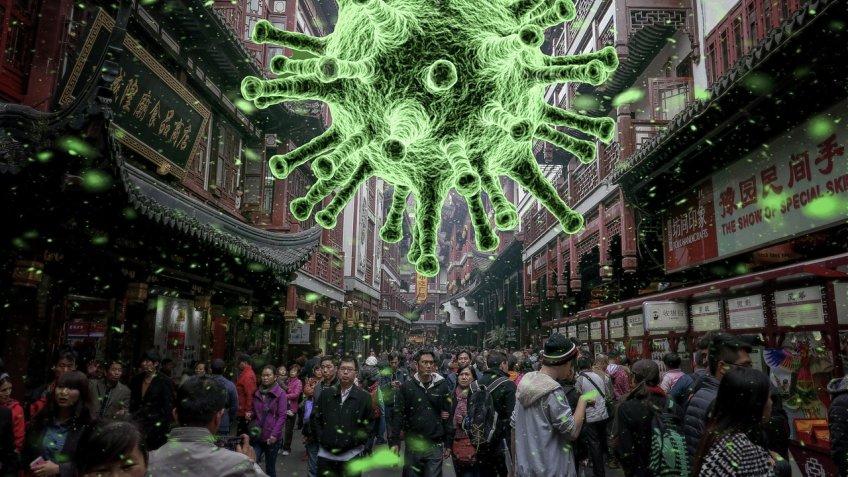 вирус на улицах