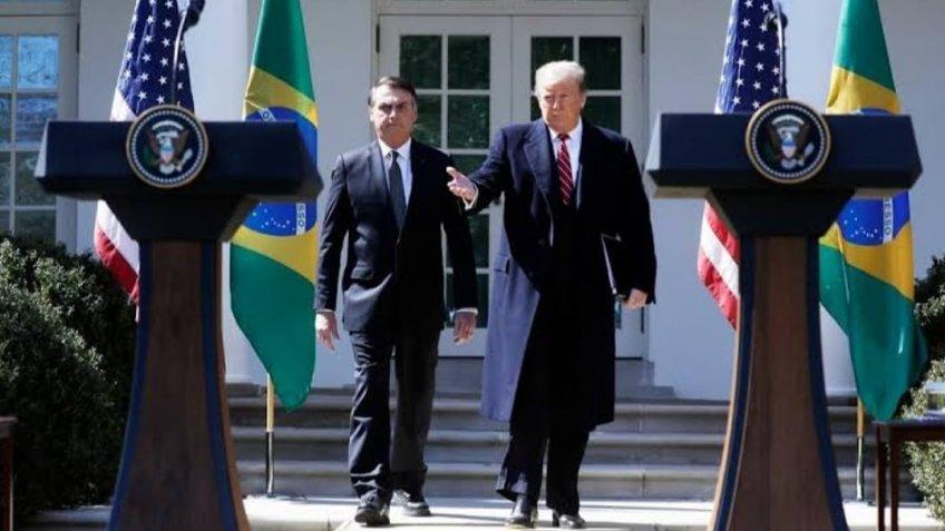 Трамп и Больсонаро