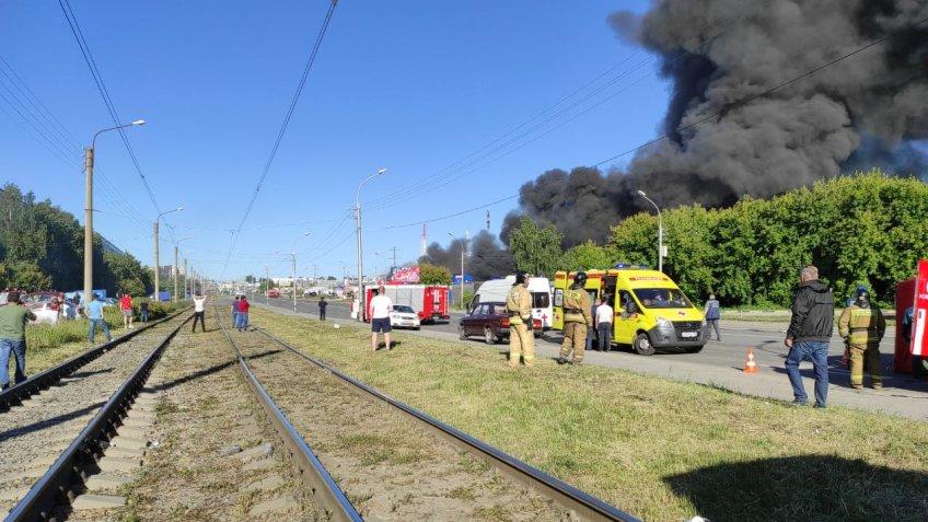16 человек пострадали при взрыве наАЗС вНовосибирске